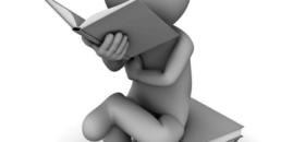lezend mannetje
