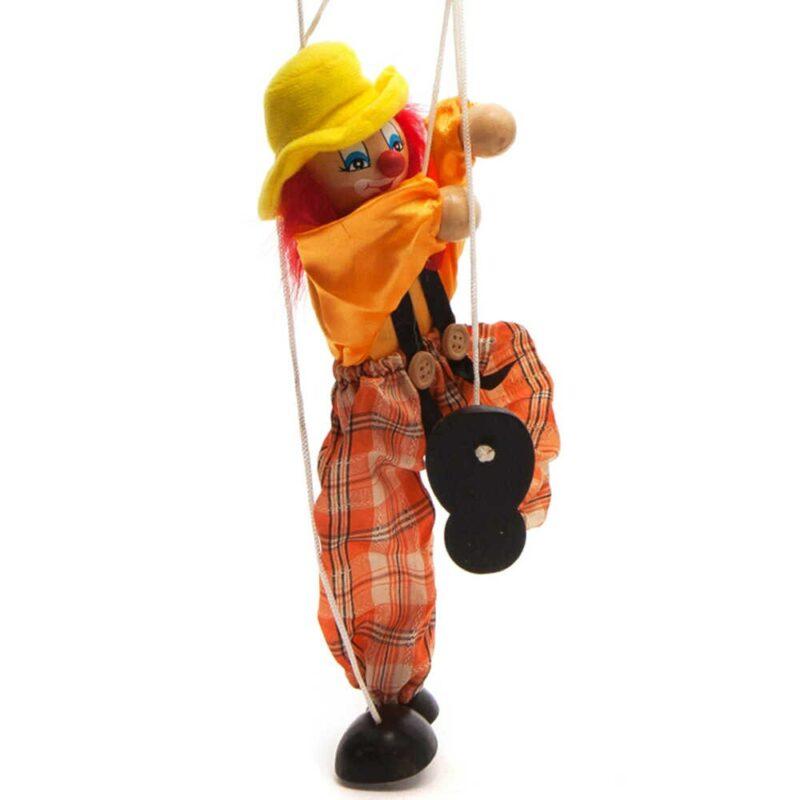 Clown-Hand-Marionette-Marionet-Speelgoed-Kinderen-Houten-Kleurrijke-Lijn-Marionette-Marionet-Pop-Ouder-kind-Interactief-Speelgoed.jpg_q50